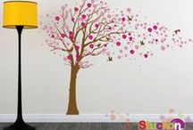 XXL Wall Stickers / Not for the faint of heart. Oversized Wall Stickers created by Stuckon