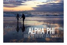 'Reppin APhi / Cover photos and backgrounds to represent Alpha Phi on all your social media and electronics! / by Alpha Phi UConn