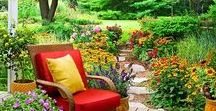 Outdoorsy living / Projects to do outside,nature  and things to put in the yard ...