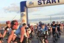 2014 Bike Around The Bay / Bike Ride benefit in Chambers County Texas for Galveston Bay Foundation