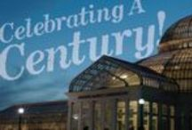 #MMC100 / The Conservatory has been around for 100 years! We know that everyone has a unique story and experience in this wonderful building, so now is your chance to share them! Use the hashtag #MMC100 on Facebook, Twitter, and Instagram to share your pics and experiences with us!