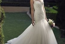 Mermaid Gowns / Mermaids, trumpets...whatever you want, we have it! http://bit.ly/CasablancaMermaid