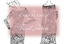 trend: sleeves / Want sleeves? Try on these gowns!  / by Casablanca Bridal