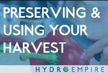 Preserving and Using Your Harvest