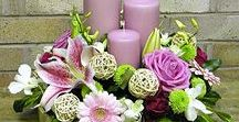 GOrgeous FLower ARrangements / A variety of the most beautiful flower arrangements for all sorts of occasions ....
