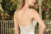 Beaded Back Wedding Gowns / Looking for a wedding dress with an exquisitely ornate back? Look no further than these beautiful styles by Casablanca Bridal!