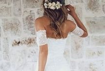 wedding dresses / My favourite selection of gorgeous gowns, from luxurious lace to charming two pieces.