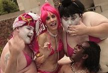 """GEISHA-MANIA!™ BTS / Pics from the set of my music video, GEISHA-MANIA!™ We laughed, we cried, we laughed cause we cried. Such the funfest. xo #ladygeisha  """"Friend"""" me for the latest video news at my brand-new Facebook page: https://www.facebook.com/zoe.black.9469?ref=tn_tnmn"""