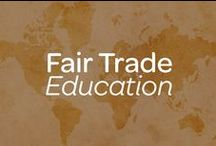 Fair Trade Education / Compassionate Essentials supports fair trade.  Fair trade exists to ensure that producers in developing countries have better trading conditions, workers have more rights, and that all trade supports environmental sustainability. www.compassionateessentials.com / by Compassionate Essentials