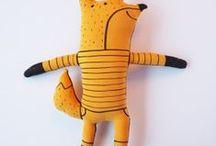 handscrafte toys / Hračky šité , pletené , háčkované atd.