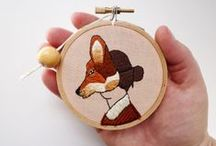 Foxy / Foxes – so hot right now! A collection of foxy fabulosities from Felt...