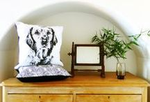I make cushions / Patterned and illustrated cushions, lovingly made in Britain.