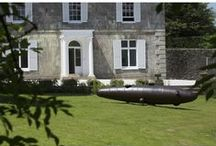 Withiel / A sunny day in Cornwall, a beautiful garden and lots of wonderful sculpture.
