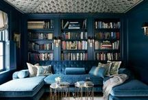 Blue Velvet Couches / Couches in shades of blue