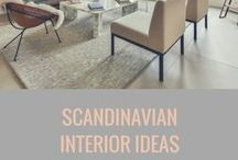 SCANDINAVIAN INTERIOR IDEAS / The beauty and simplicity of Scandinavian style. Effortless yet cosy! Love it!