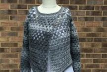 Get Squared (tm) by Jenny King Designs / A revolutionary new program by Jenny King that lets you take any yarn and make a garment that will fit perfectly and flatter your figure WITHOUT needing to read a pattern! / by Crochetville