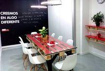 UPCYCLING TABLES / Mesas de la línea Koopera Upcycling y otras ideas que pueden interesarte.