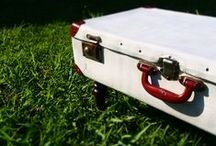 UPCYCLING SUITCASES / Mesas maleta de la línea Koopera Upcycling y otras ideas que pueden interesarte.