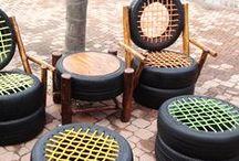 UPCYCLING WHEELS / Productos hechos con ruedas de la línea de Koopera Upcycling y otras ideas que pueden interesarte.
