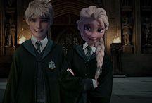 Jelsa at Hogwarts
