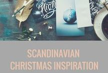 SCANDINAVIAN CHRISTMAS INSPIRATION / Modern and stylish Scandinavian Christmas inspiration. Make your home look fantastic this year.