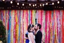 Inspire: Backdrops / Gorgeous wedding backdrops