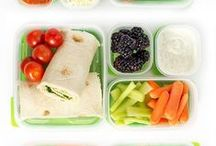 Teeth Friendly Lunch Boxes For Kids / Snack and meal ideas for a healthy lunch box.