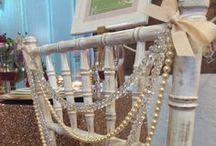 Inspire: Chair decor / Gorgeous chair decoration