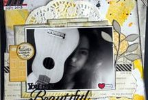 Design Team Inspiration 2013 / Layouts and projects designed using 2Crafty Chipboard.