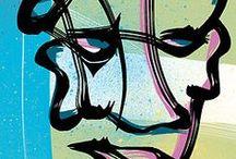La Rue est vers l'Art / More at http://3circlesooo.tumblr.com/