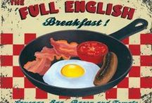 """Full English Breakfast / Traditional breakfast also known as  """"a fry up."""""""