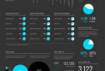 Infographics - Web Design / Creative Business / Infographics related to web design, marketing, social media, and more.