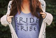 Team Bride Apparel Tank Tops / Bridal and bachelorette party tank tops! #wedding #bridetobe #bacheloretteparty #bridesmaids #bride