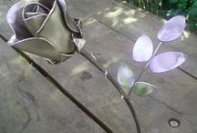 Metal Art / My welded metal sculptures. I create metal ornaments.