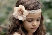 Flower Girls / Adorable wedding outfits for flower girls