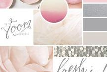 Color Palettes / Inspirational color palettes for design, home, clothing, and beyond.