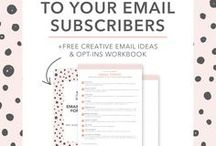 Email Marketing / Ideas and concepts for successful email marketing for businesses of all kinds.