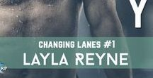 Changing Lanes (Swimmers) / RELAY and MEDLEY, by Layla Reyne, coming 2018 from Riptide Publishing