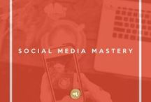 Social Media Mastery / We all need to be a part of it. Here are some tips, tricks, hacks and techniques for making an impact in the social media sphere.