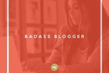 Badass Blogger / Want to start a successful blog? Want to make money from your blog? Don't know where to start? Follow me and let's work it out together.