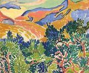 My favorites of André Derain 1904-1914 / Pompidou Beaubourg Museum