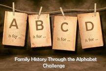 Genealogy - The Alphabet Challenge