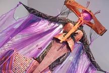 Exposición Diseño y Escenas del Taller Nessagara  / La muestra se inauguró el martes 12 de marzo a las 19.00 en la Sala de Exposiciones de Artistas del Acero y estará disponible hasta fin de mes.