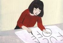Lettering and Book Covers / by Priya Sebastian