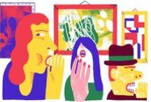 JooHee / Her illustrations / by Priya Sebastian