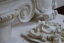 moulding・carving・relief・plaster / by Naoko Helen Oshika