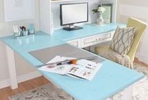 Home Office Beauty Inspiration / Time to create my home office and I want it to be a place I feel totally inspired!