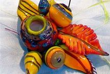 Beads of Glass / Beads made with glass, primarily by lampworking. / by Nartique Glass