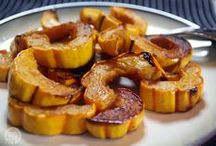 Squash Season / Recipes I'm excited about making or have made in the fall of 2014.