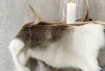 Scandinavian home / Mostly Skandinavian rustic inspiration